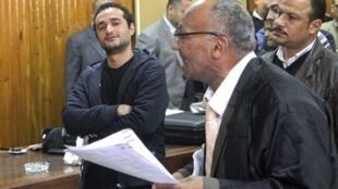 احمد دوما، در جلسه دادگاه