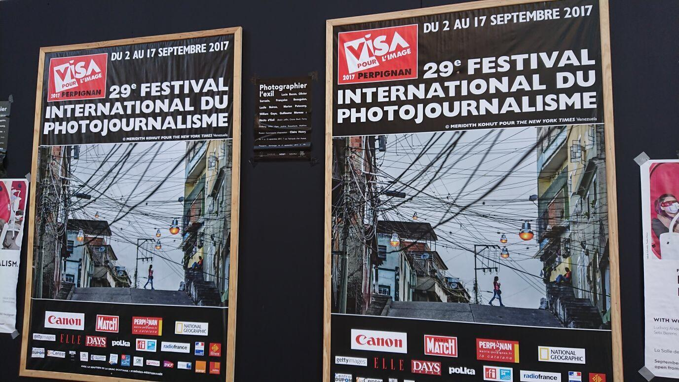 O Festival de fotojornalismo Visa Pour l'Image, em Perpignan, sudoeste da França, acontece até 17 de setembro.