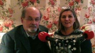 Salman Rushdie, entrevistado por Catherine Fruchon-Toussaint, el 19 de noviembre de 2012.