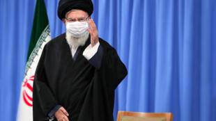L'ayatollah Ali Khamenei, guide suprême de l'Iran.