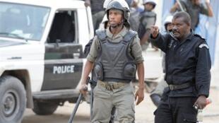 Des policiers mauritaniens (Image d'illustration).