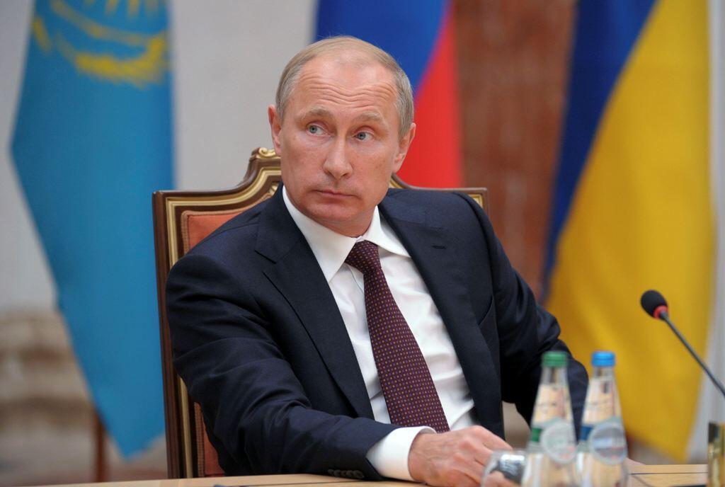 Rais wa Urusi, vladimir Putin.