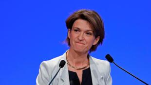 Isabelle Kocher nommée directrice générale du géant français de l'énergie Engie, le 3 mai 2016.
