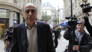 L'homme d'affaires franco-libanais Ziad Takieddine, en octobre 2011.
