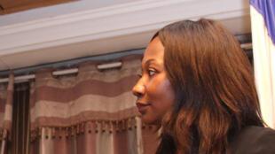 Sylvie Baïpo-Temon, la ministre centrafricaine des Affaires étrangères.