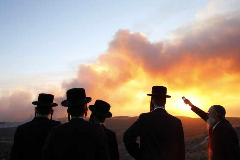 Yadda wutar daji ke barna a kasar Israela