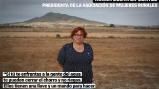 María Costa Cifuentes, presidenta de la Asociación de Mujeres Rurales.