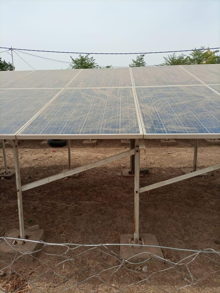 Dusty but sturdy, the  solar panels in Séminbougou village, Mali, have changed the lives of villagers who finally have access to electricity
