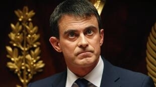 French Prime Minister Manuel Valls addresses the National Assembly on Tuesday