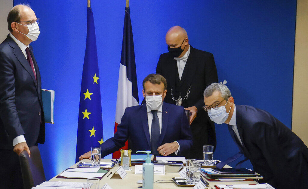 France - Emmanuel Macron - Jean Castex - Pegasus