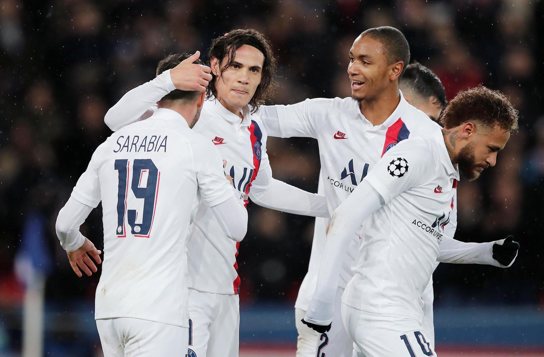 Le PSG, lors de leur victoire en Ligue des champions contre Galatasaray, le 11 décembre 2019.