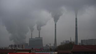 Una central de carbón en Datong, provincia china de Shanxi, el 19 de noviembre de 2015