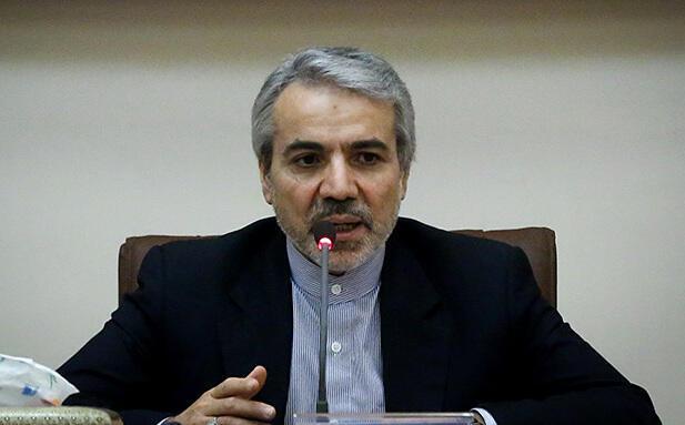 محمد باقر نوبخت، معاون حسن روحانی و رئیس سازمان برنامه و بودجه.