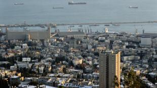 Le gisement de gaz Léviathan est situé à 130 kilomètres au large du port d'Haïfa.