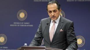 حسین مُفتی اُغلو سخنگوی وزارت امور خارجۀ ترکیه