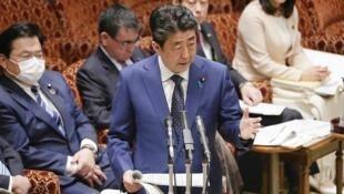 日本首相安倍晉三資料圖片