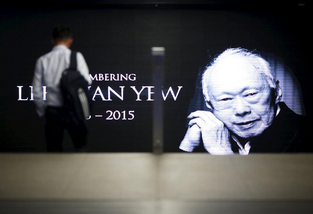 Cựu Thủ tướng Singapore Lý Quang Diệu.
