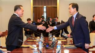 韩国和朝鲜会晤