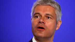 Laurent Wauquiez (ici le 18 avril 2018 au siège du parti Les Républicains).