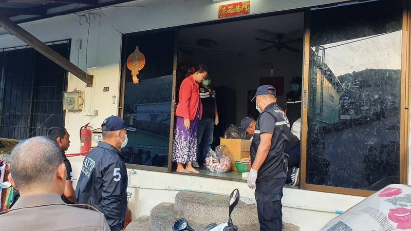 The children were rescued from four locations in Patong where they were being kept.