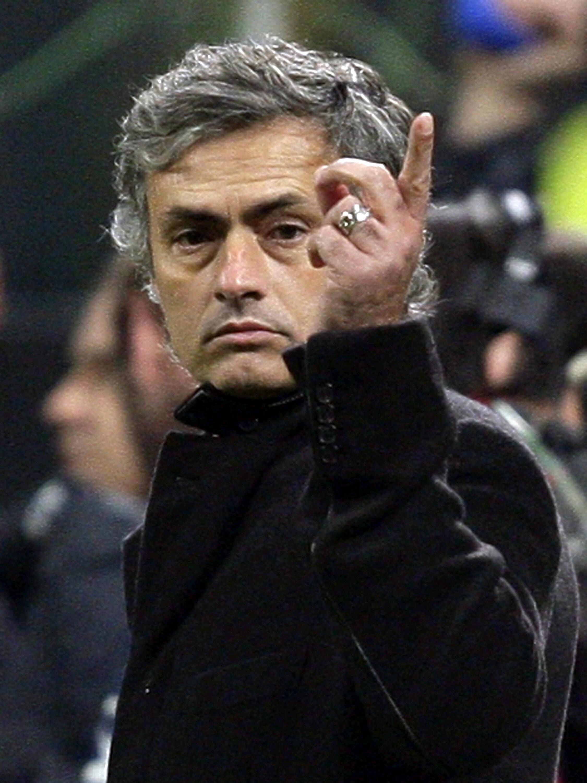 L'entraîneur portugais José Mourinho.