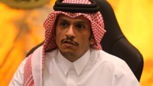 Waziri wa Mambo ya nje wa Qatar  Mohammed bin Abdulrahman Al-Thani
