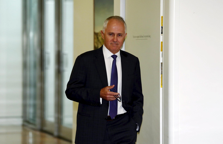Malcolm Turnbull a pris, mardi 15 septembre, ses fonctions de chef du gouvernement australien, après avoir ravi la veille les commandes du Parti libéral à Tony Abbott lors d'un vote interne.