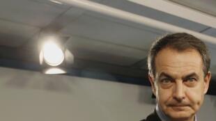 O ex-premiê espanhol José Luis Rodriguez Zapatero, que sofreu derrota histórica nas urnas, nesta segunda-feira. Mais um líder europeu cai face à crise da Zona do Euro.