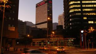 A sede da Absa (Barclays África) na Cidade do Cabo na África do Sul