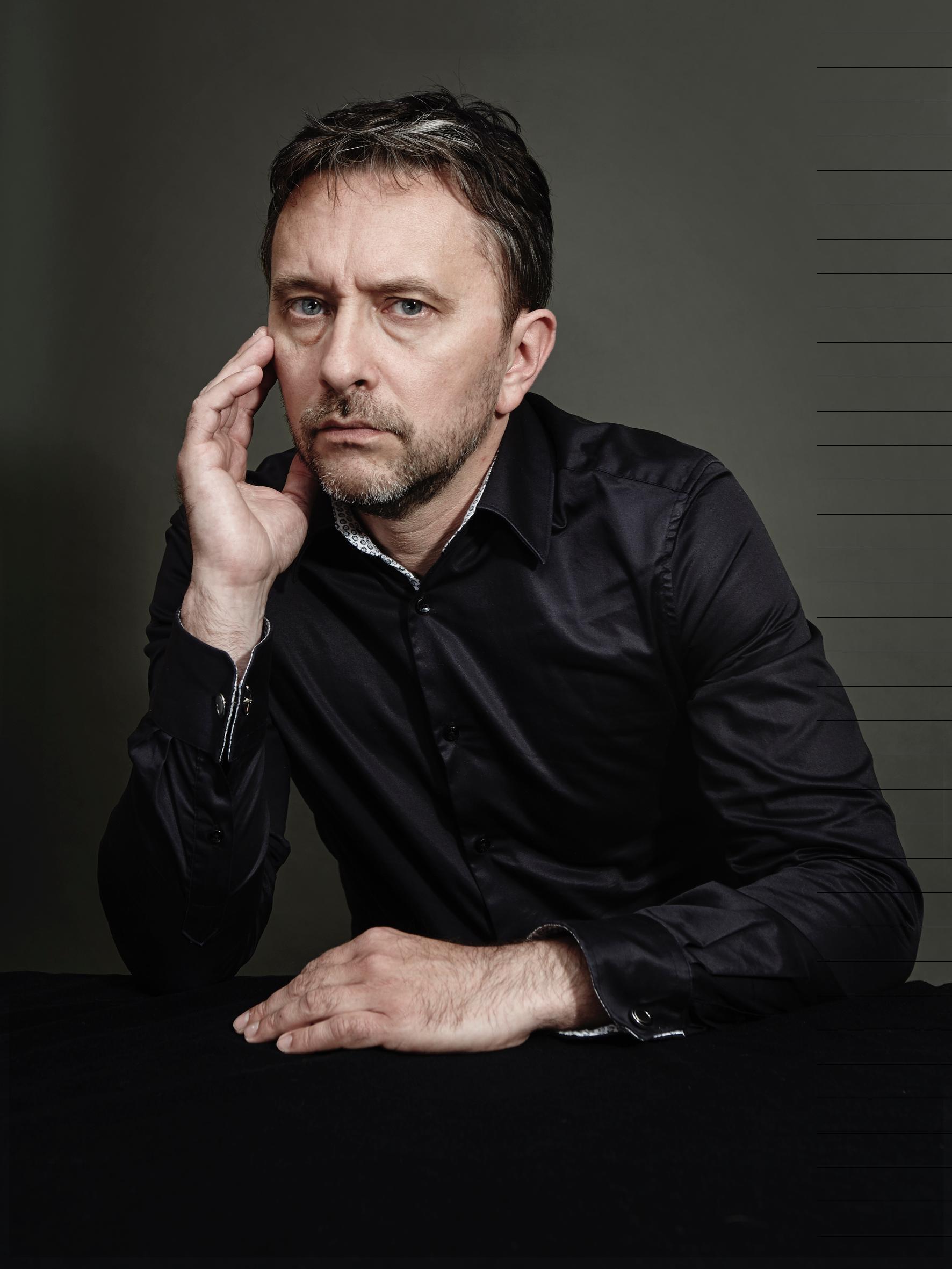 Portrait de l'écrivain Frédéric Viguier, pour son nouveau roman «Aveu de faiblesse».