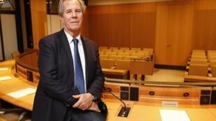 Jean-Louis Debré au Conseil Constitutionnel, institution qu'il a présidée de mars 2007 à mars 2016.