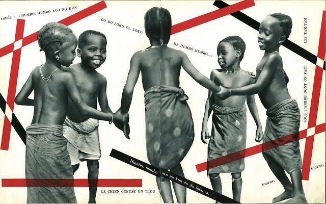 Extrait de « Agossou le petit africain ». Texte et photos de Dominique Darbois (1955, Fernand Nathan).