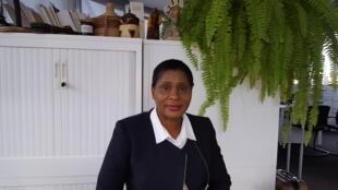 Madame Doua Ouli Jeannette épouse Badouel, maire de de la commune de Logoualé.
