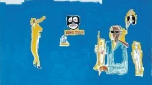 King Zulu, Jean-Michel Basquiat (1986).