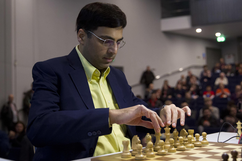 Indian chess player Vishy Anand
