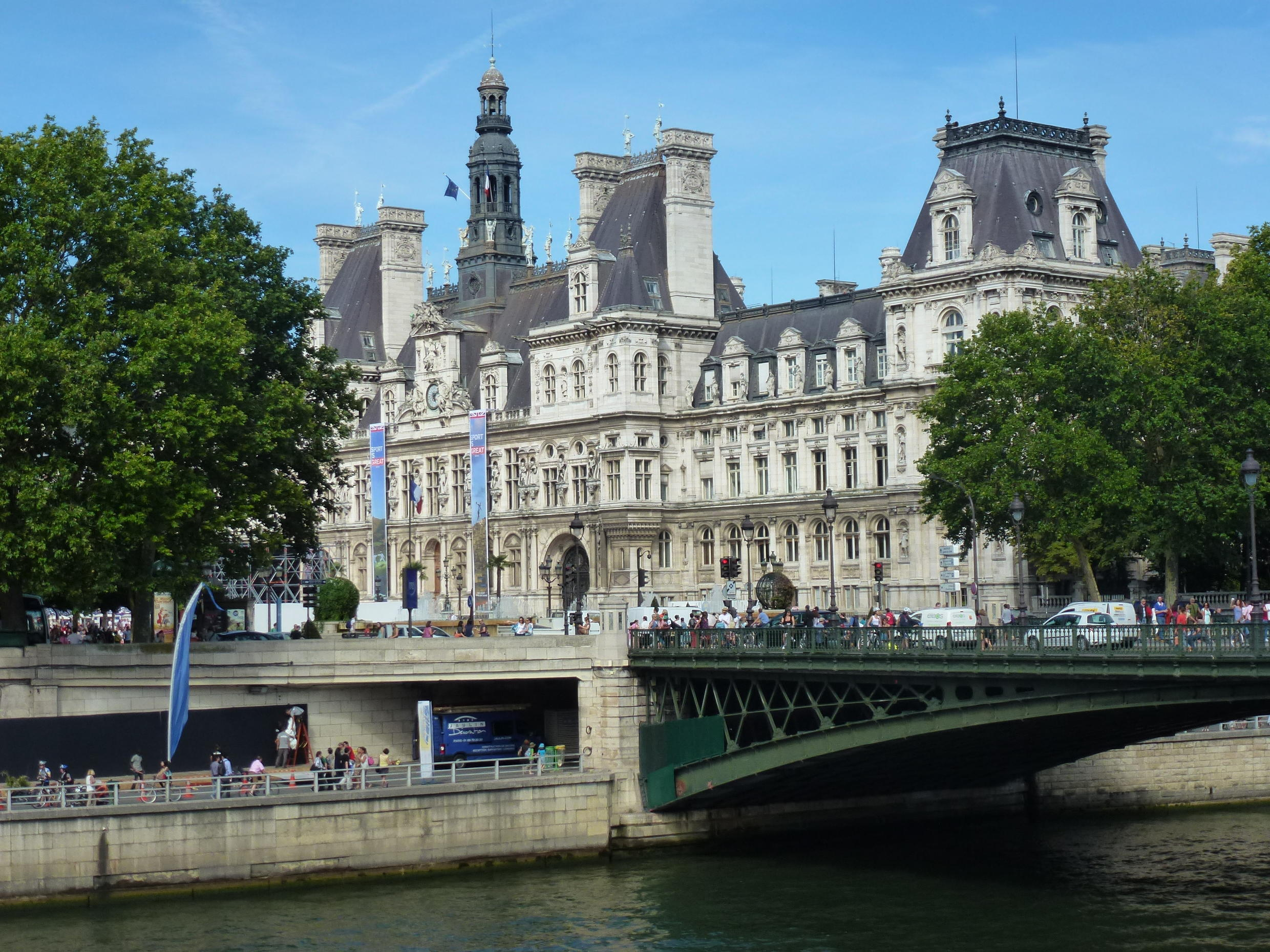 Paris is a mineral city, which makes it difficult to adapt to heatwaves due to climate change, says Sebastien Maire, who arrived in 2013 as the city's Chief Resilience Officer