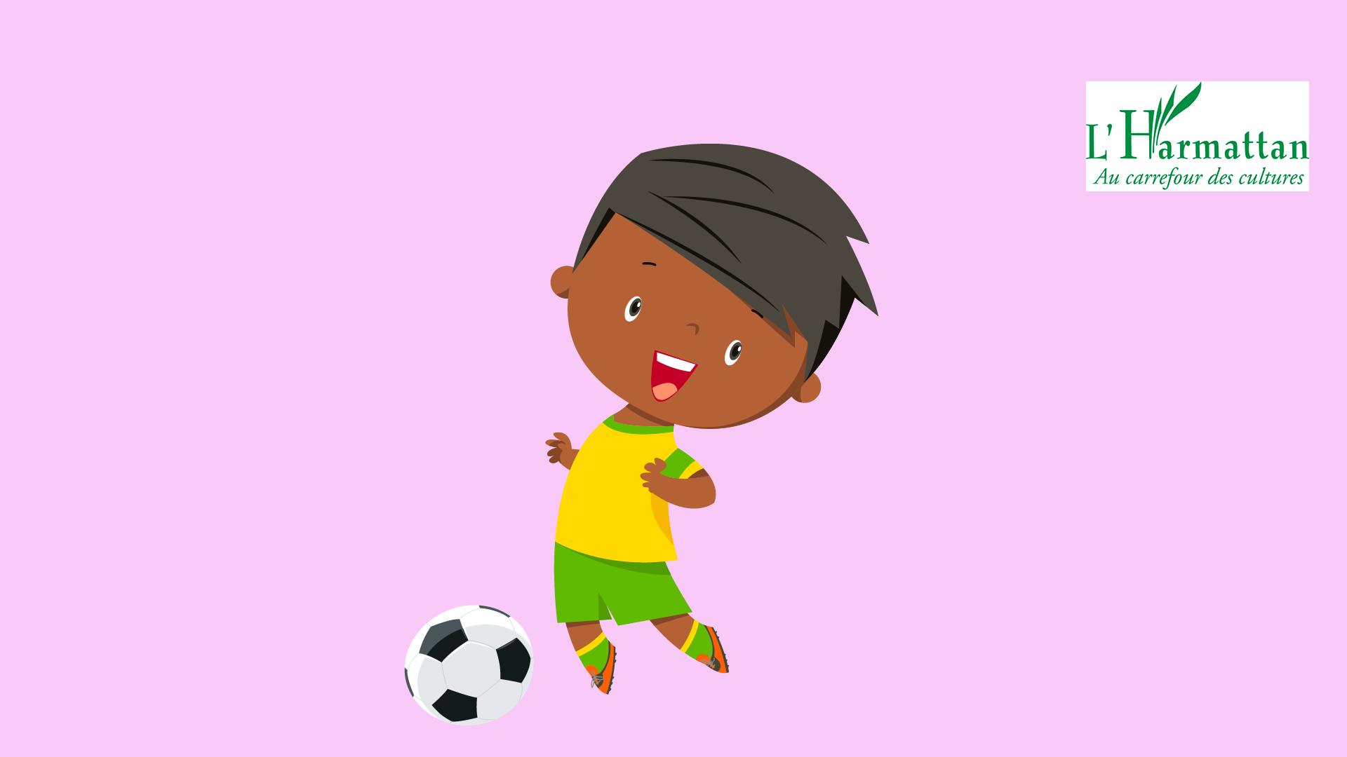 Moté, le petit footballeur