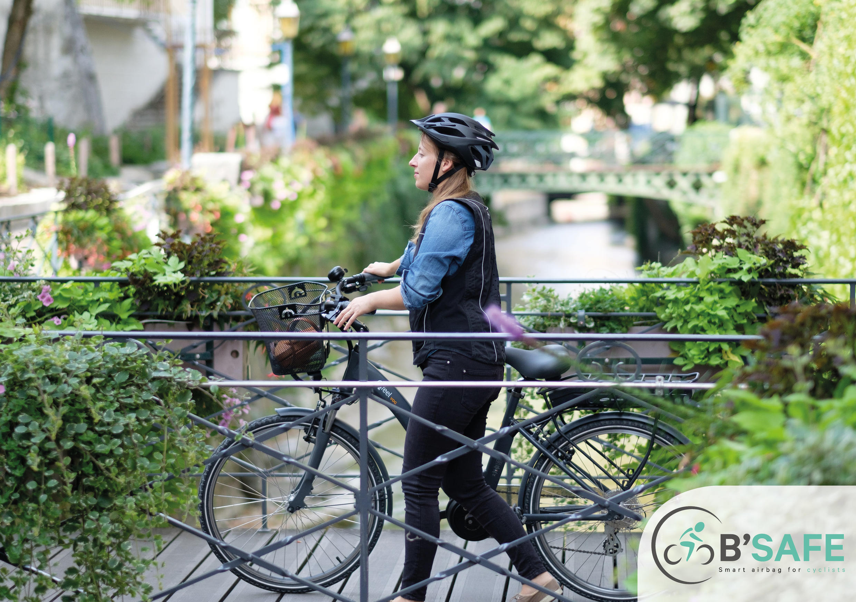 B'Safe: o airbag inteligente para ciclistas da Helite
