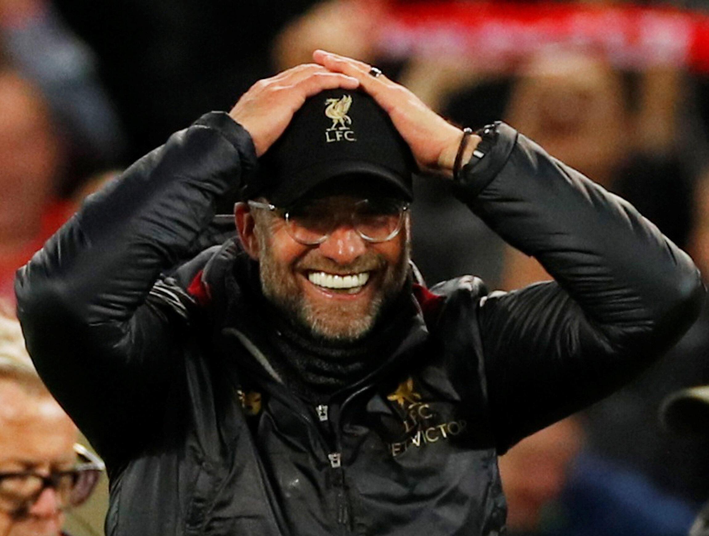 Jürgen Klopp savoure la qualification de Liverpool pour la finale de la Ligue des champions au détriment du FC Barcelone.
