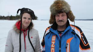 Jouni Aikio et son épouse Marianne, deux authentiques Sámis, respecteux de la nature et attachés à leurs traditions.