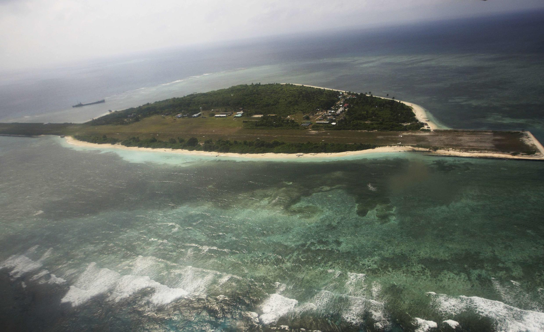 Đảo Thị Tứ, trong quần đảo Trường Sa, Biển Đông.