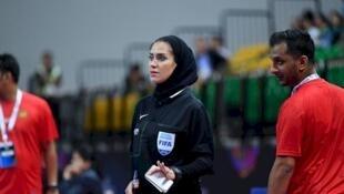 گلاره ناظمی، نخستین داور ایرانی در فینال فوتسال المپیک جوانان