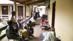 Couloir de hôpital de Bangui, en Centrafrique. (Image d'illustration)