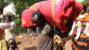 Wasu daga cikin 'yan gudun hijrar Burundi da ke neman mafaka a Rwanda