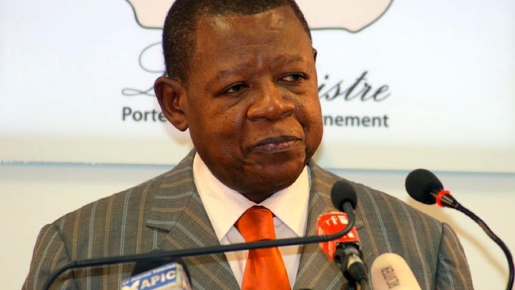 Lambert Mende, ancien porte-parole du gouvernement de RDC.