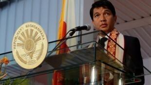 Andry Rajoelina, le 26 juillet 2013 à Antananarivo (Image d'illustration).