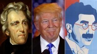 Hình mẫu của Donald Trump là tổng thống Mỹ Andrew Jackson (trái), người ủng hộ chế độ nô lệ.