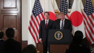 Donald Trump à Tokyo, le 25 mai 2019.