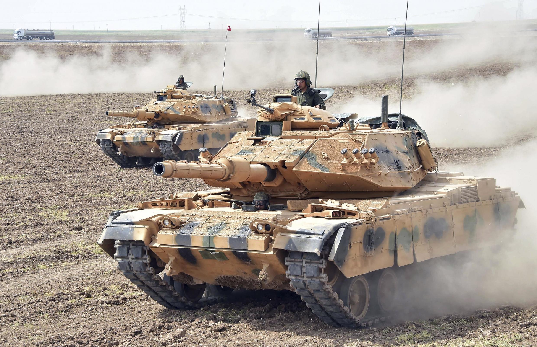 Des chars de l'armée turque déployé au sud du pays, à la frontière avec l'Irak. (image d'illustration)