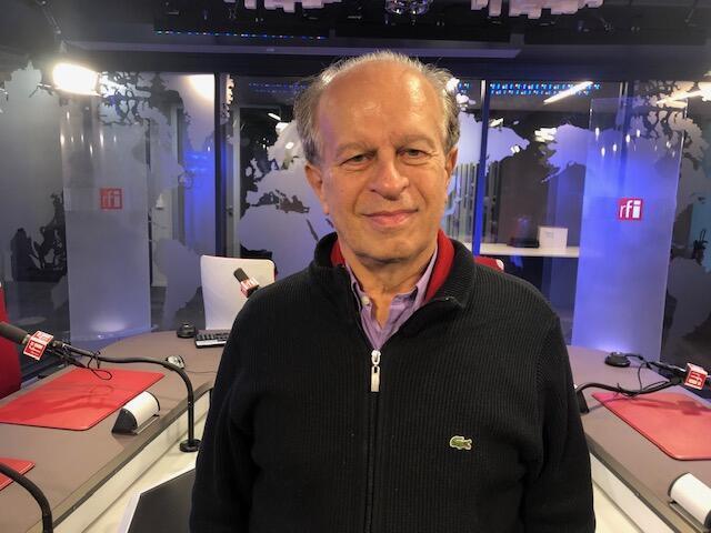 O ex-ministro da Educação e filósofo Renato Janine Ribeiro em Paris, onde falou sobre a situação política brasileira.
